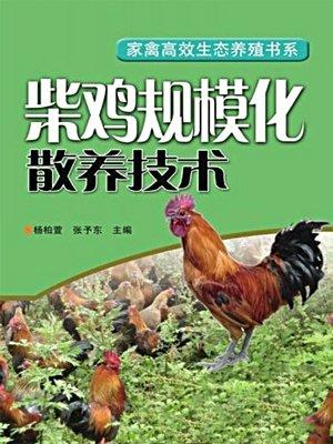 柴鸡规模化散养技术 (家禽高效生态养殖书系)
